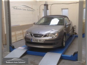 car servicing at Redbourn Auto Solutions