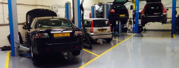 Car repairs and servicing in Herts