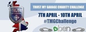 TMG Charity Challenge logo