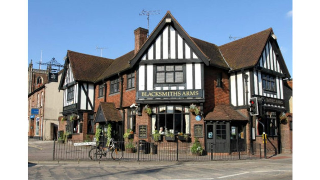 Road Safety - pub pictures - the blacksmith arms